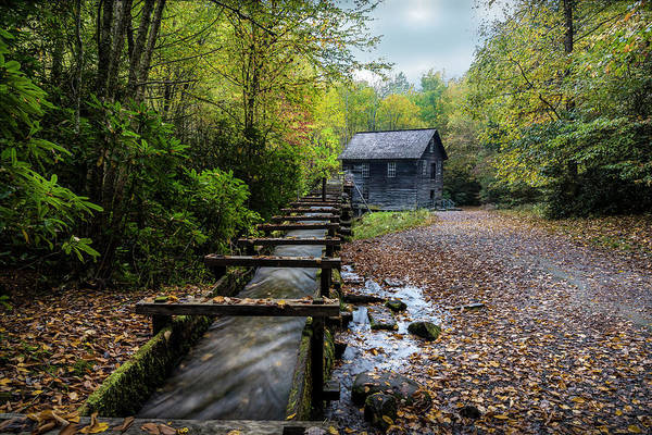 Mingus Mill Photograph - The Mingus Mill by David Morefield