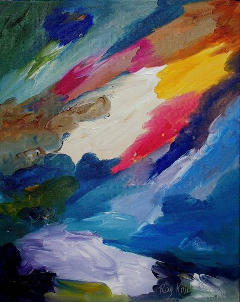 Painting - The Miracle by Ray Khalife