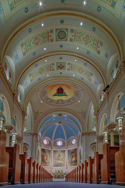 Photograph - The Miraculous Medal Shrine Pa by Susan Candelario