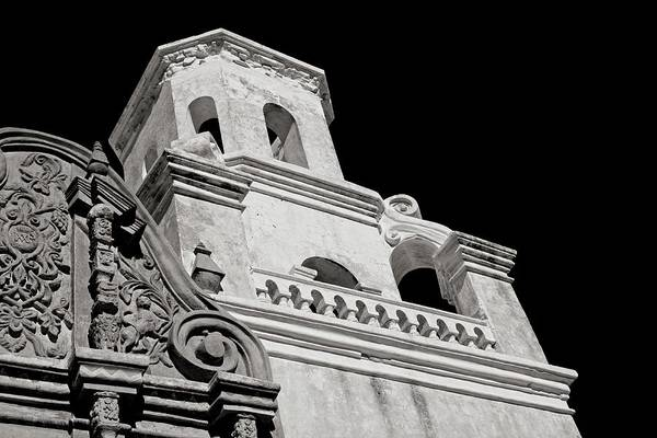 Photograph - The Bell Tower - San Xavier Mission by Lucinda Walter