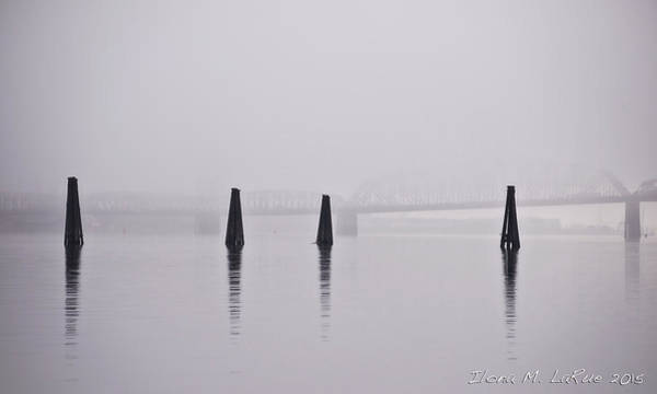 Interstate 5 Wall Art - Photograph - The Mist by LaRue Ilona