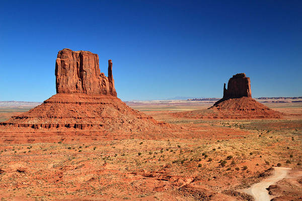 Photograph - The Mittens In Monument Valley by Pierre Leclerc Photography