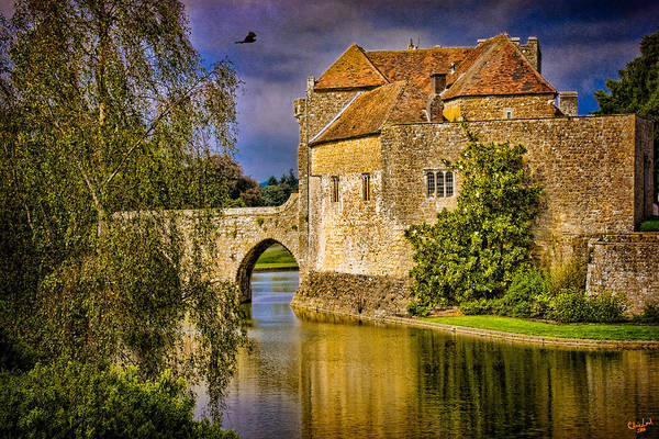 Photograph - The Moat At Leeds Castle by Chris Lord