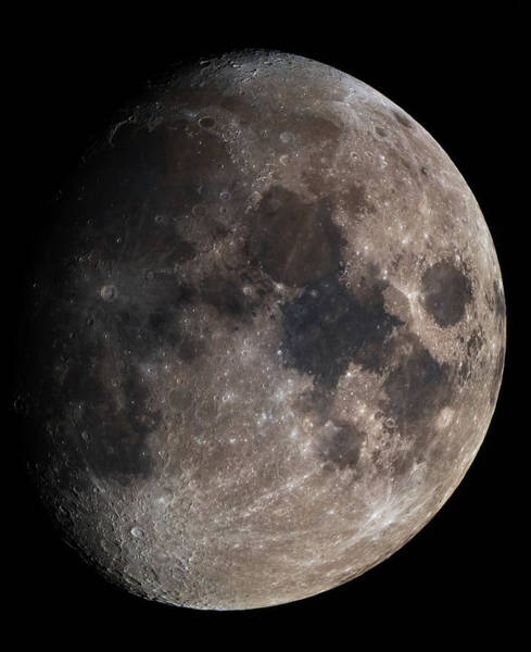 Photograph - The Moon by Dennis Sprinkle