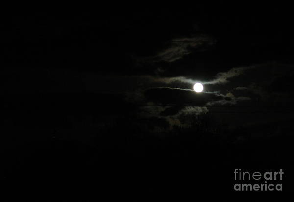 Photograph - The Moon In Between by Marie Neder