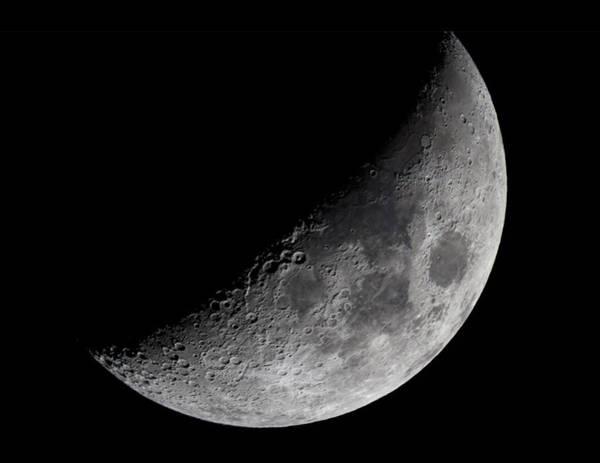 Photograph - The Moon by Rick Berk