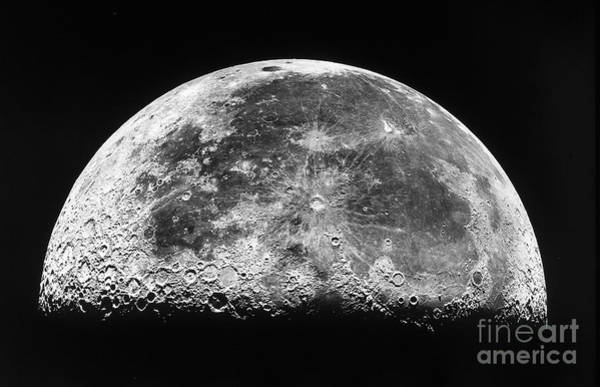 Photograph - The Moon by Stocktrek Images