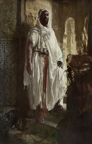Justice Painting - The Moorish Chief, 1878 by Eduard Charlemont