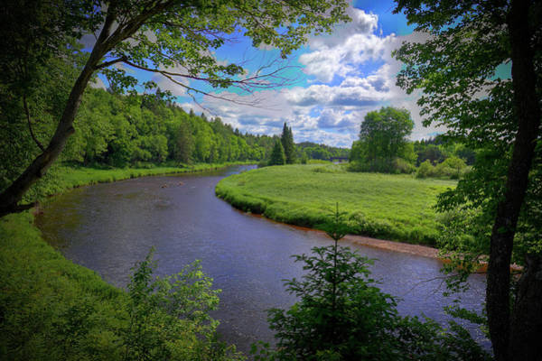 Photograph - The Moose River At Mckeever by David Patterson