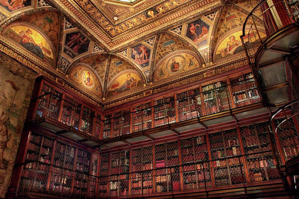 Wall Art - Photograph - The Morgan Library by Jessica Jenney