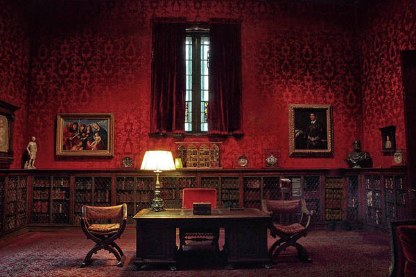 Photograph - The Morgan Library Study by Jessica Jenney