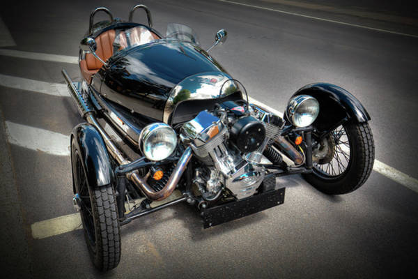 Photograph - The Morgan Three Wheeler by David Patterson