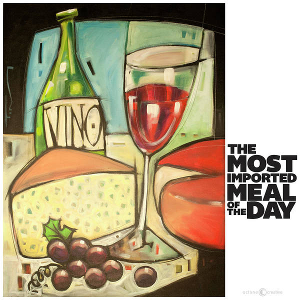 Painting - The Most Imported Meal by Tim Nyberg