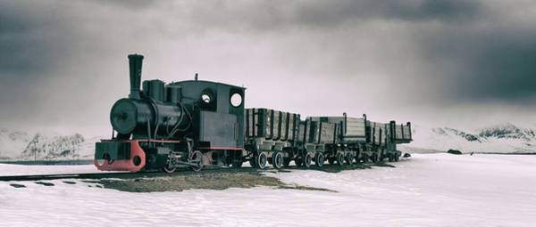 Photograph - The Most Northern Train? by James Billings