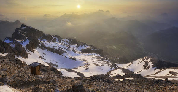 Andreas Photograph - The Most Panoramic Wc In The World (3253 Mt High) by Andrea Auf Dem Brinke