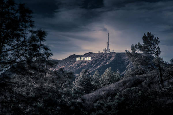 Photograph - The Mount Hollywood Icon by Gene Parks