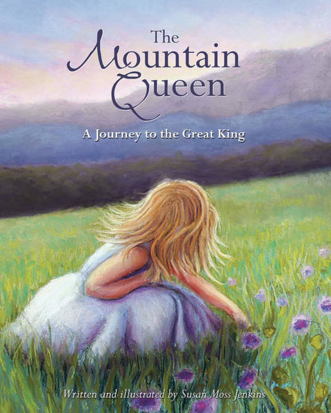 Pastel - The Mountain Queen Book Cover by Susan Jenkins