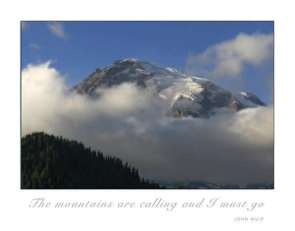 Photograph - The Mountains Are Calling by CE Haynes