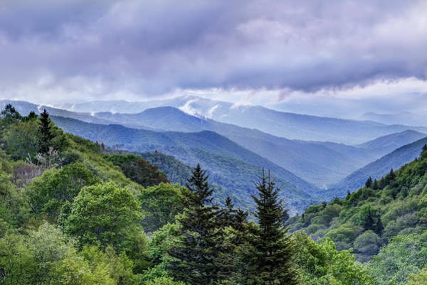The Mountains Of Great Smoky Mountains National Park Art Print