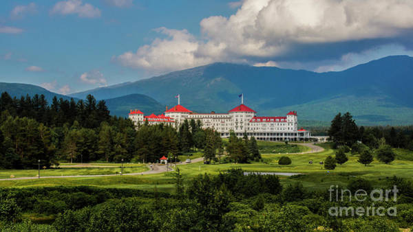 Photograph - The Mt. Washington Hotel by New England Photography