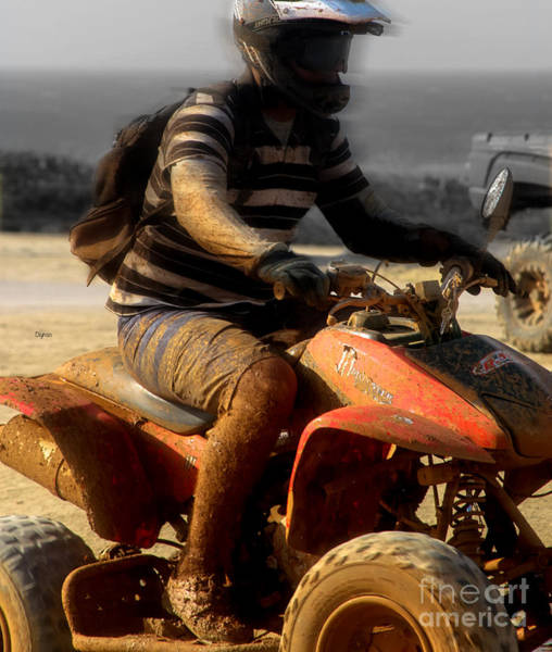 Four Wheeler Photograph - The Mud Beater  by Steven Digman