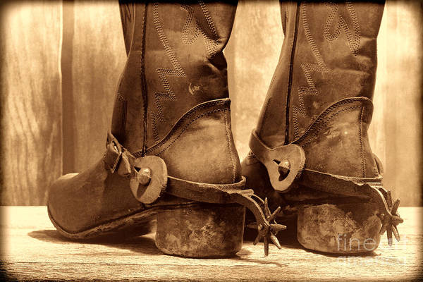 Photograph - The Muddy Boots by American West Legend By Olivier Le Queinec