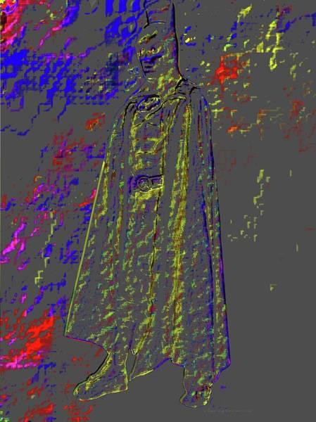 Digital Art - The Multi-dimensional Batman by Vincent Green