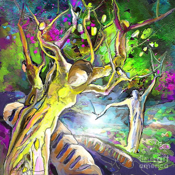 Painting - The Multiplication Of Bread by Miki De Goodaboom