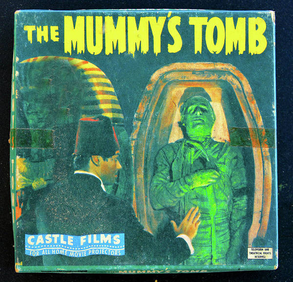 Wall Art - Photograph - The Mummy's Tomb 1942 by David Lee Thompson