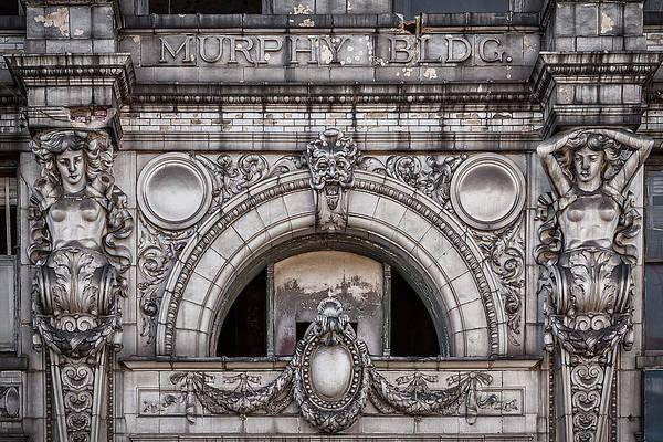 Photograph - The Murphy Building Facade by Robert FERD Frank