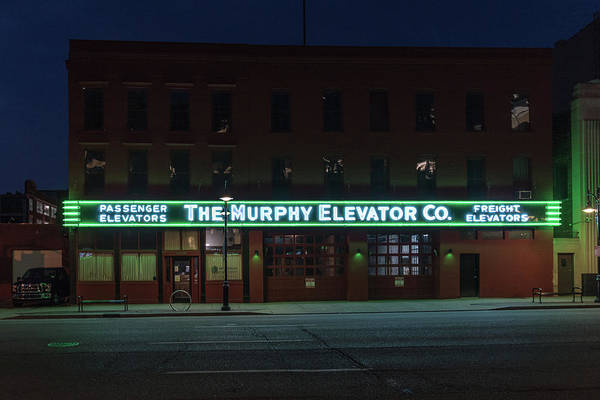 Photograph - The Murphy Elevator Company by Randy Scherkenbach