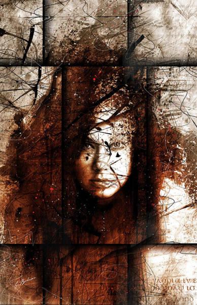 Symbolic Digital Art - The Muse IIi by Gary Bodnar