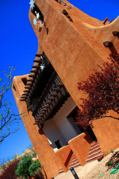 Photograph - The Museum Of Art In Santa Fe by Susanne Van Hulst