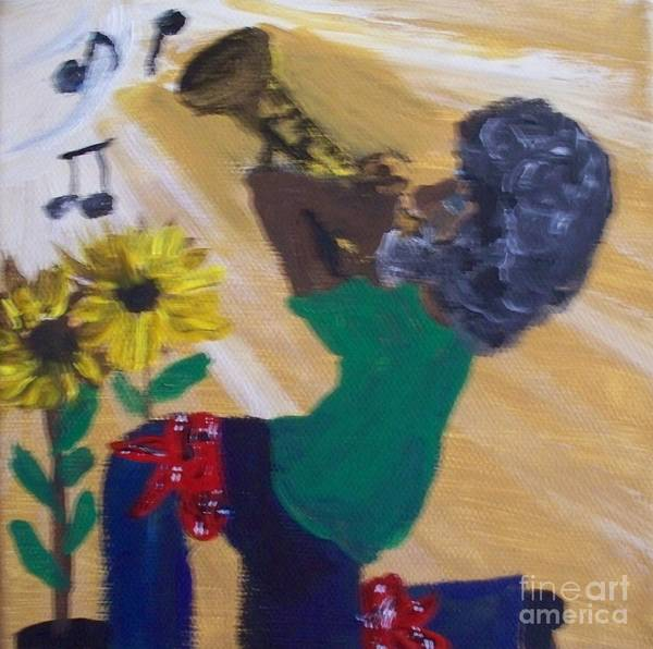 Note Book Painting - The Music Man's  Song by Seaux-N-Seau Soileau