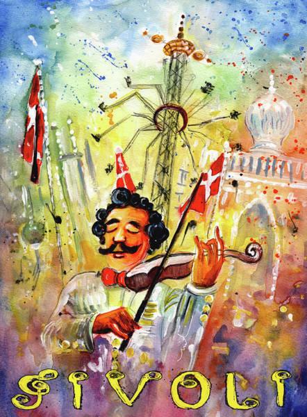 Painting - The Music Of Tivoli Gardens by Miki De Goodaboom