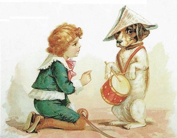 The Musical Pooch Art Print