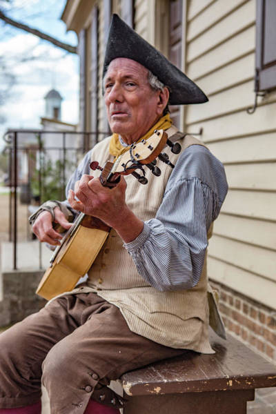 Photograph - The Musician by Pete Federico