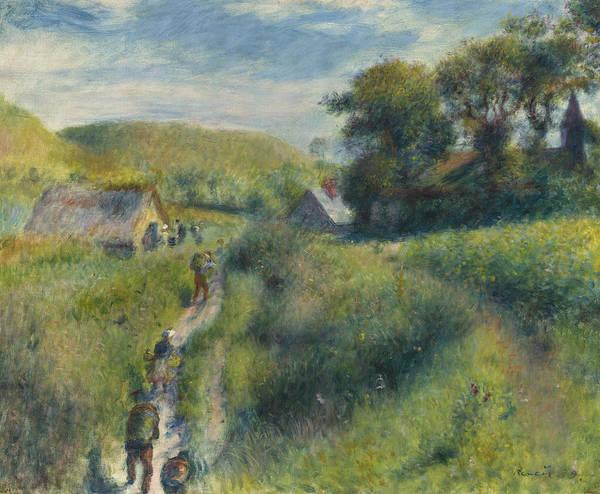 Wall Art - Painting - The Mussel Harvest by Pierre Auguste Renoir