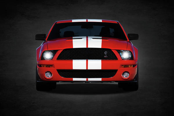 Wall Art - Photograph - The Mustang Shelby Gt500 by Mark Rogan