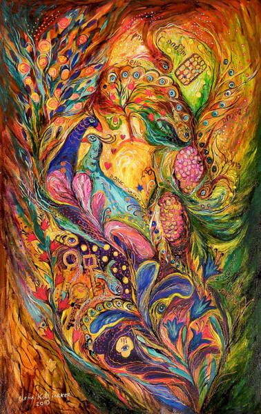 Wall Art - Painting - The Mystery Of Three Keys by Elena Kotliarker