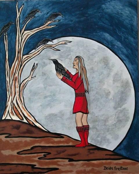 The Mystical Experience Art Print by Deidre Firestone