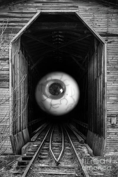 Wall Art - Photograph - The Mystical Eye Sees All And Knows All by Edward Fielding
