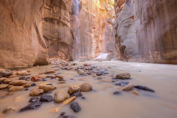 Photograph - The Narrows Floating Rock by Paul Schultz