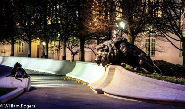 Wall Art - Photograph - The National Law Enforcement Officers Memorial by William Rogers
