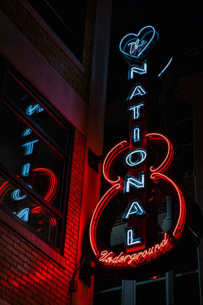 Wall Art - Photograph - The National Underground by Stephen Stookey