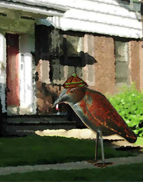 Digital Art - The Neighbor Lady by Teresa Epps