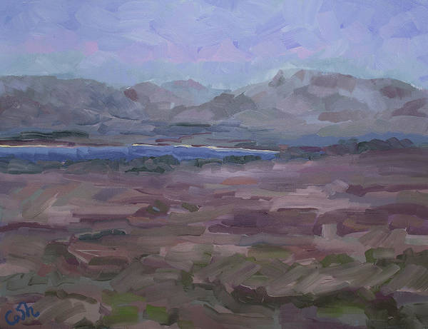 Painting - The Nephin Beg And Ballycroy From Doogurt Achill Mayo Ireland by Catherine Considine