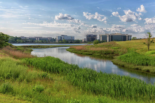 Photograph - The Neponset River And Pope John Paul Park by Brian MacLean