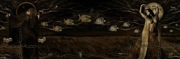 Wall Art - Digital Art - The Neverending Dance by Alexei Solha