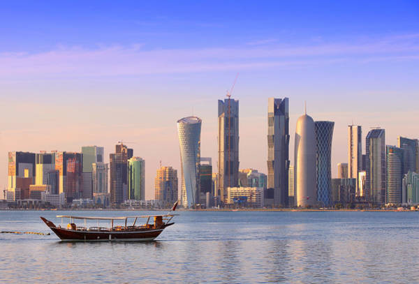 Photograph - The New Doha by Paul Cowan